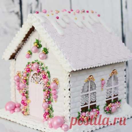 Пряничные домики и печеньки от maybeacookie (инстаграм)