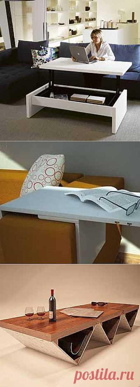 Мебель-трансформер: 10 практичных идей - Учимся Делать Все Сами