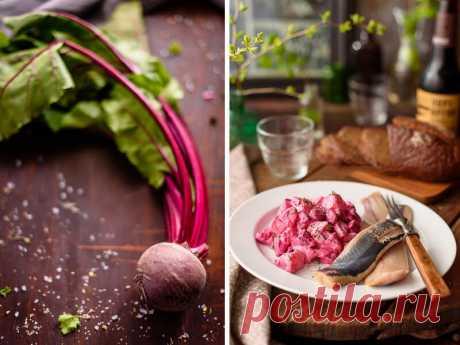 Салат из молодой свеклы с картофелем — Вкусные рецепты