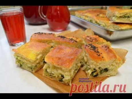 УРАЛЬСКИЙ ПИРОГ вкуснейшее тесто и вкуснейшая начинка