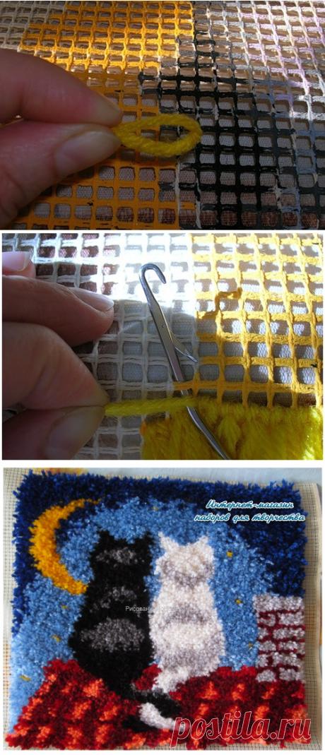 Рисование красками по номерам - полезные статьи — Вышивка в ковровой технике