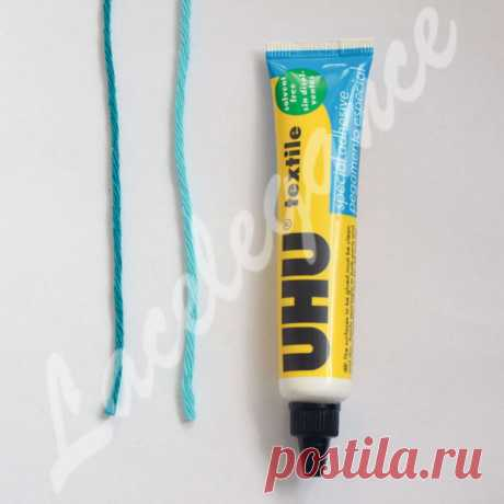 Соединение нитей при вязании