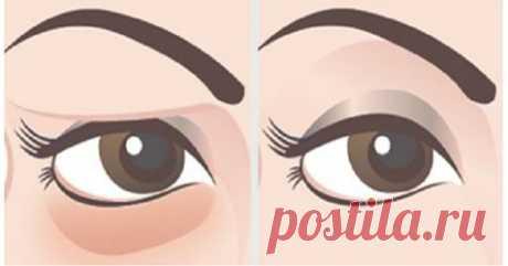 Решите проблему с нависшими веками естественным способом за 2 минуты - Полезные советы красоты
