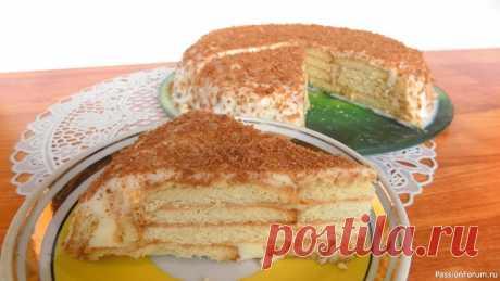 """Торт из печенья с творожным кремом без выпечки. Видео рецепт Для приготовления этого торта торта нам понадобится:Печенье (у меня обычное печенье """"К кофе"""") - 500 гр.Творог (у меня 9% жирности) - 400 гр.Сгущенное молоко - 1 банкаСметана - 1 ст. л.Черный шоколад - для украшения этого тортаВидео рецепт приготовления торта из печенья:"""