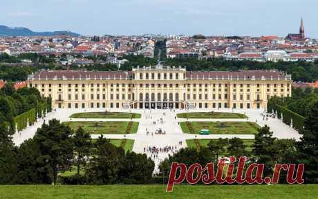 Австрия, Вена. Дворец Шёнбрунн. Часть 7.Интерьеры.Личные апартаменты