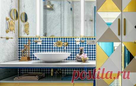 5 небольших, но очень красивых ванных — INMYROOM