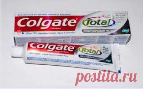 Зубная паста - продукт с удивительными свойствами. - запись пользователя mila (Мила) в сообществе Болталка в категории Разговоры на любые темы