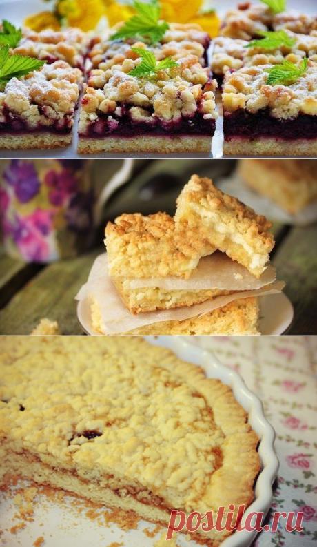 5 рецептов тертого пирога