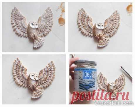 Лепка совы из полимерной глины - Все о полимерной глине