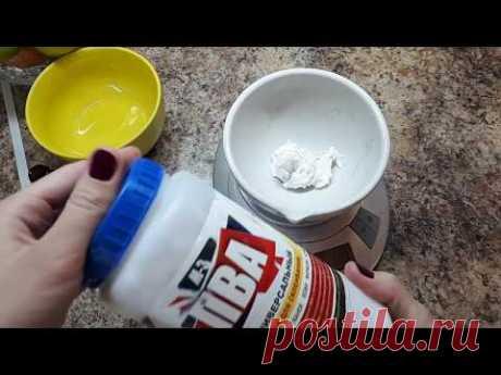 Подробный рецепт массы для лепки