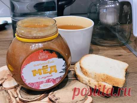 Мёд с мумиё с горного Алтая