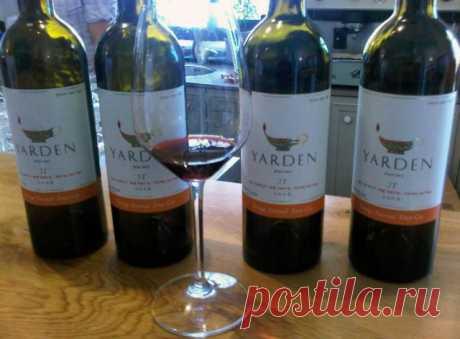 Лучшие вина Израиля