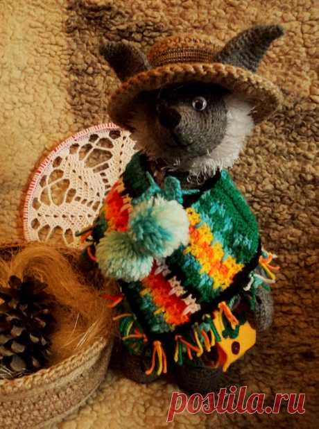 Ну и как же настоящий мексиканец без настоящего пончо!