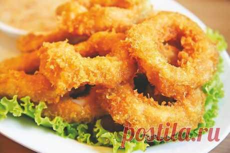 Кольца кальмара в кляре - рецепт с фото / Простые рецепты