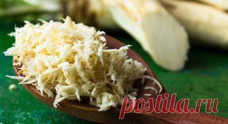 Хрен обыкновенный (лат. Armoacia ruslicana) – полезные свойства и рецепты заготовок на зиму