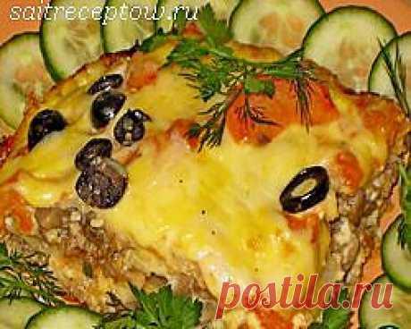 Капустная лазанья. | Сайт рецептов
