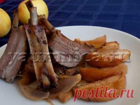Рецепт свиных ребер в духовке - Пошаговые рецепты с фото