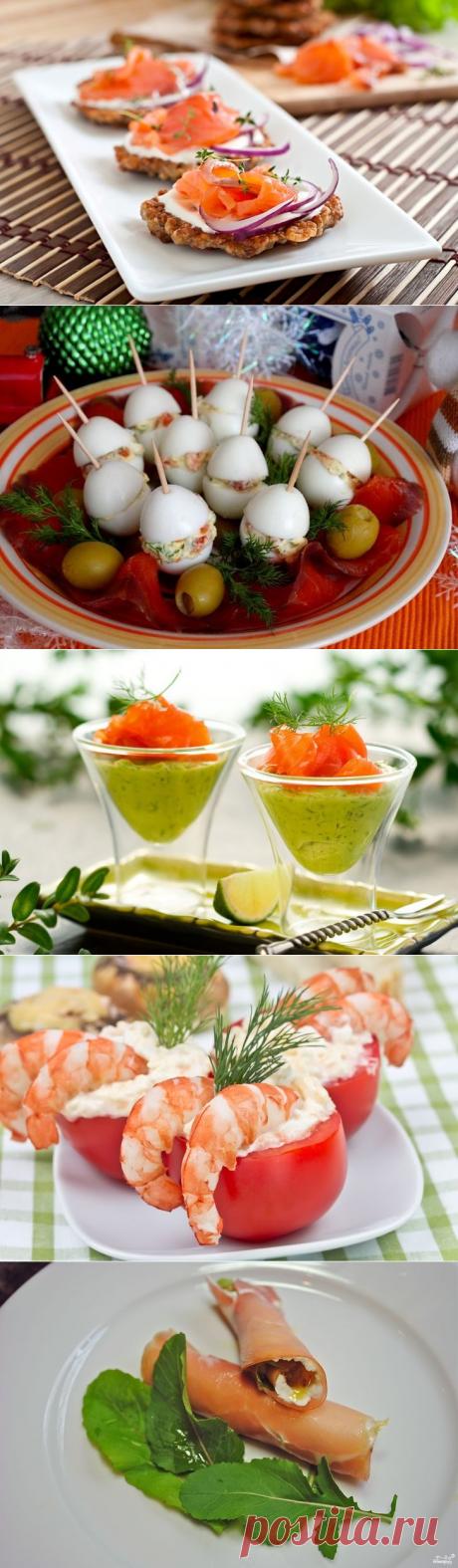 Рецепты удивительных закусок к новогоднему столу / Все для женщины