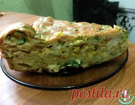 """Пирог с капустой """"Пикантный"""" – кулинарный рецепт"""