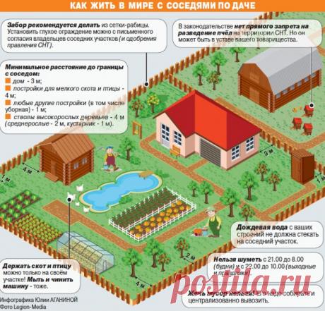 Правильный отдых на даче » Уютный сад