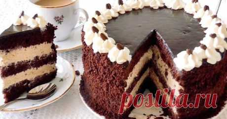 Кавовий торт для справжніх чоловіків | Смачні рецепти домашніх страв