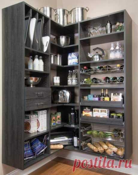 Как обустроить удобную кладовку в квартире | Роскошь и уют