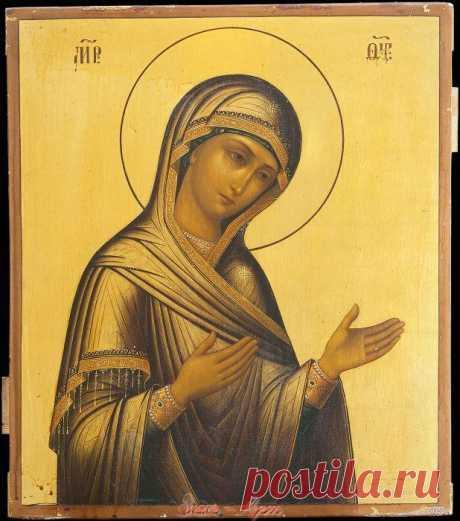 Семнадцатый Сон Пресвятой Богородицы.