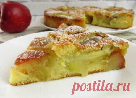 Если у вас есть 3 яблока и 10 минут времени, приготовьте этот ПИРОГ! ☆Бюджетно, просто и ТАК ВКУСНО (Итальянский яблочный пирог) | Вкусные идеи от Натали | Яндекс Дзен