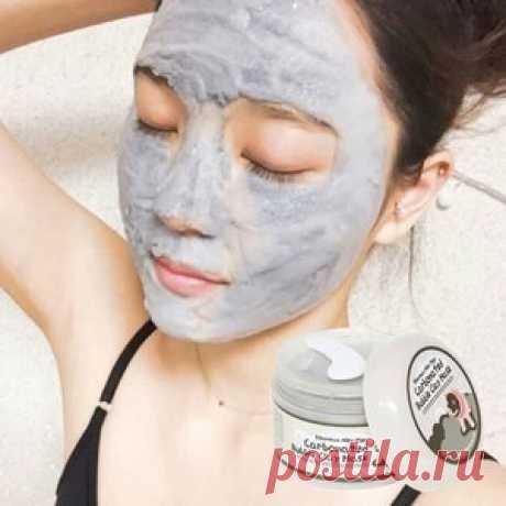 Китайская маска красоты из меда крахмала и соли | Golbis