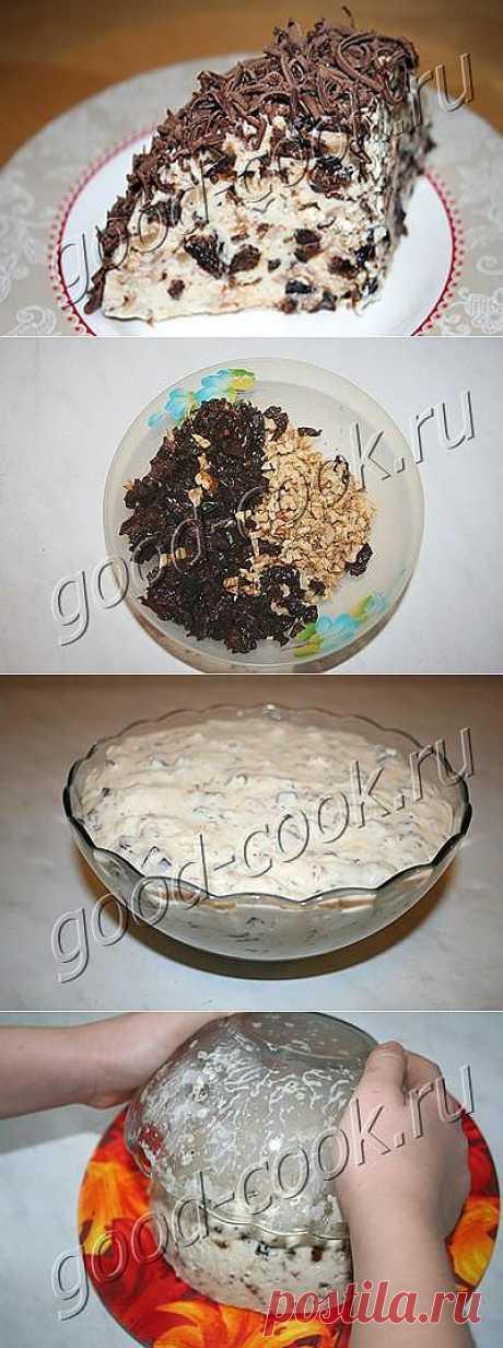 Десерт из чернослива с орехами..
