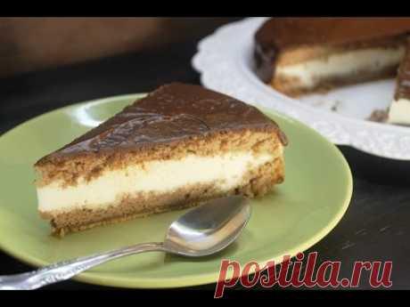 Торт с суфле из сметаны