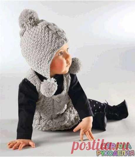Шапочка малышке - Головные уборы.Шарфы