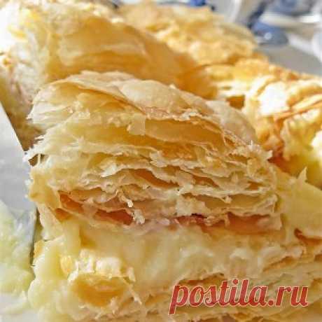 Торт «Наполеон» с апельсиновым кремом, пошаговый рецепт с фотографиями – выпечка и десерты