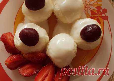 (3) Ленивые вареники с черешней - пошаговый рецепт с фото. Автор рецепта Марина . - Cookpad