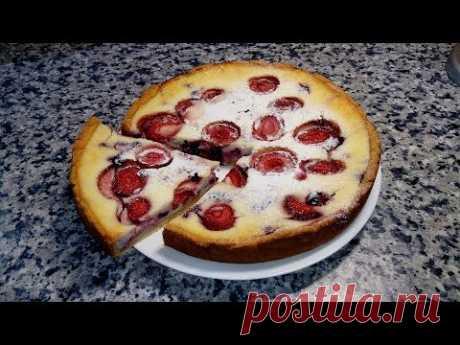 Ягодный пирог - СМЕТАННИК 🌟 Очень нежный и вкусный пирог! 🌟 Sour cream and berry pie!