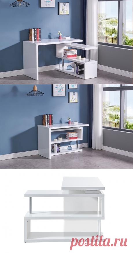 Стол письменный Creator, белый | Купить по выгодной цене в интернет-магазине iModern.ru