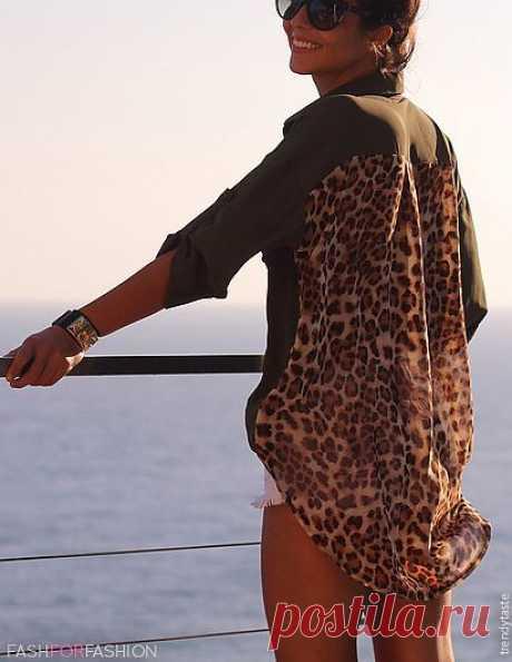 Спинка из платка / Платки / Модный сайт о стильной переделке одежды и интерьера