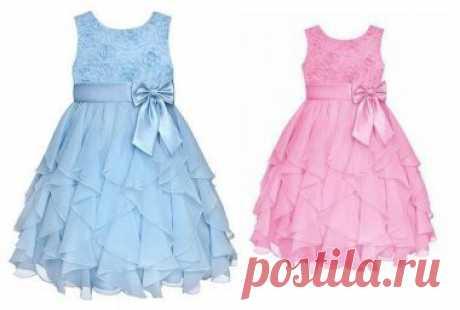 Выкройка летнего красивого платья для девочки от 2 лет до 14 лет (Шитье и крой) – Журнал Вдохновение Рукодельницы