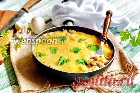 Жульен на сковороде рецепт с фото, как приготовить на Webspoon.ru