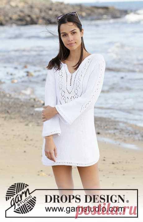 Платье White Pearl - блог экспертов интернет-магазина пряжи 5motkov.ru