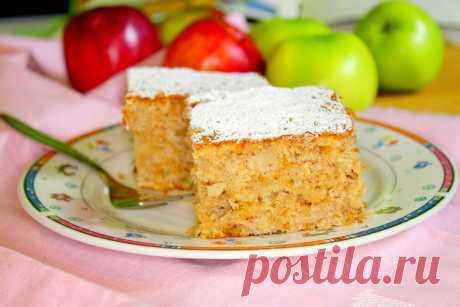 Самый вкусный яблочный пирог из тех, что я вообще в жизни ела   вкусно#смачно   Яндекс Дзен