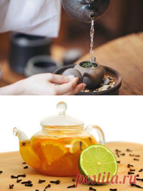 Как приготовить вкусный и полезный чай. Рецепты Красота и здоровье