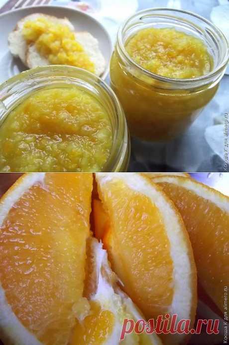 Апельсиновое варенье.