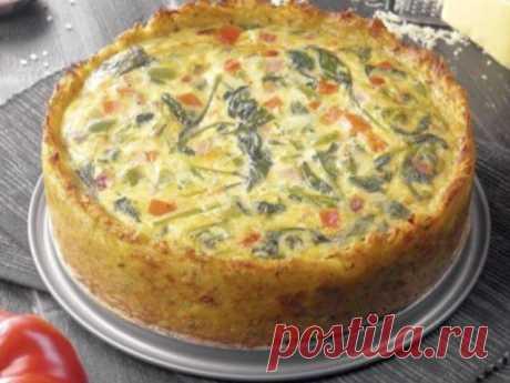 Картофельный пирог «Драник» с вкуснейшей начинкой. Очень вкусный рецепт!