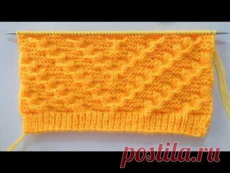 Gents Sweater Knitting Stitch Pattern