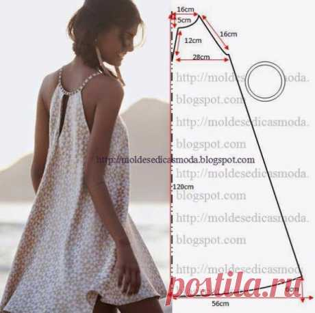 Летние платья и сарафаны с простыми выкройками... 50 платьев - 50 выкроек! - Подружки - медиаплатформа МирТесен