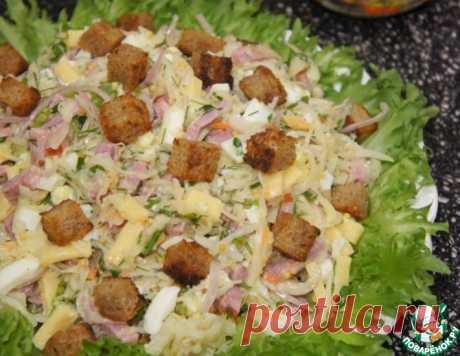 Салат из квашеной капусты – кулинарный рецепт
