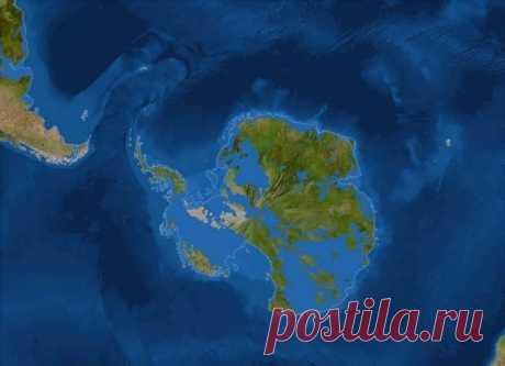 Ученые спрогнозировали, что будет с Землей, если расстает Антарктида — oxygenno.com