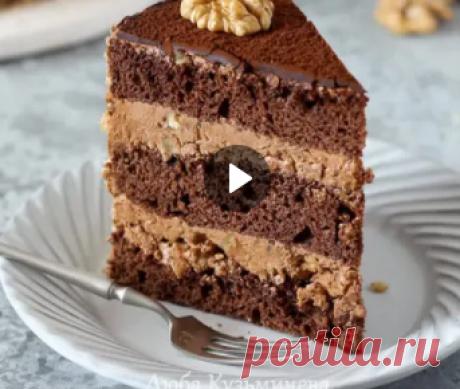 Любимый ШОКОЛАДНЫЙ торт из ДЕТСТВА