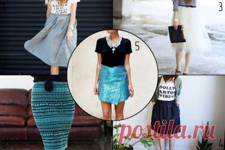 Bezdushna Fashion: DIY, Fashion, Lifestyle: Учимся шить: 5 юбок для начинающих data:blog.metaDescription